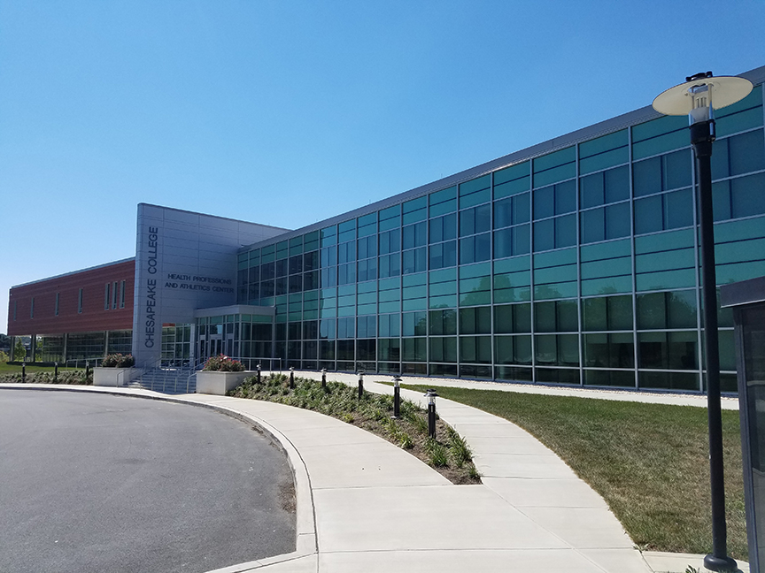 Chesapeake College - Health Professions and Athletics Center